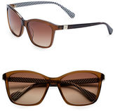 Diane von Furstenberg Courtney 56mm Square Sunglasses