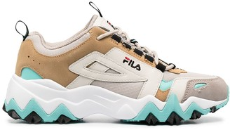 Fila Panelled Lace-Up Trainers