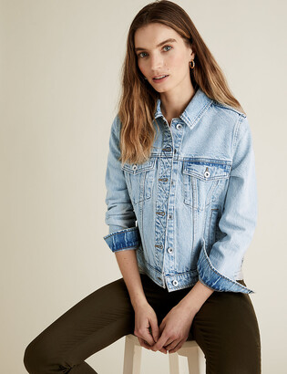 Marks and Spencer PETITE Essential Denim Jacket