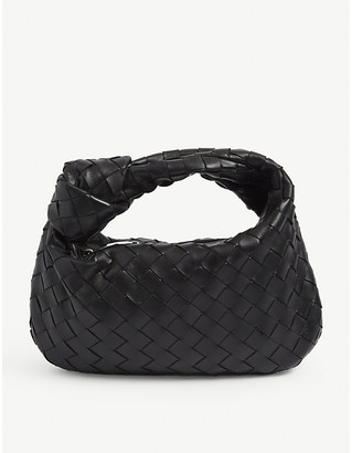 Bottega Veneta Jodie mini intrecciato leather hobo bag