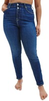 Thumbnail for your product : Calvin Klein Jeans Size High Rise Skinny Jean Denim