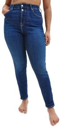 Calvin Klein Jeans Size High Rise Skinny Jean Denim