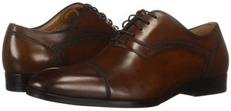 Steve Madden Compass (Tan) Men's Lace Up Cap Toe Shoes