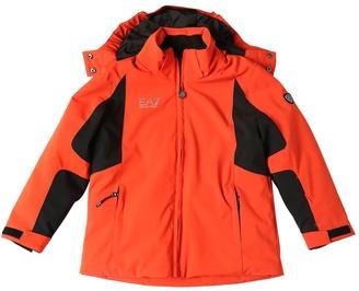 Ea7 Emporio Armani Ski Technical Padded Jacket