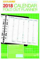 Debden 2018 Dayplanner Desk Monthly Pull Out