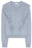 Chloé Cashmere and cotton sweater