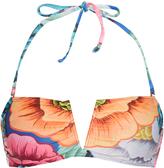 Mara Hoffman Floral-print bandeau bikini top
