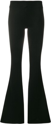 Galvan Jersey Flared Trousers