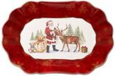 Villeroy & Boch Toy's Fantasy Large Oval Bowl, Santa