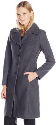 Tommy Hilfiger Women's Classic Walker Wool Coat
