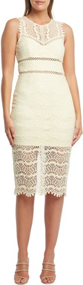 Bardot Mariano Lace Sheath Dress