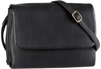 Derek Alexander Somerset Leather Crossbody Bag