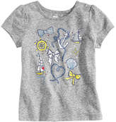 Epic Threads Nautical-Print T-Shirt, Little Girls, Created for Macy's