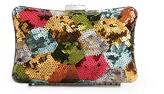Townsend Lulu Multi Sequin Patch Clutch