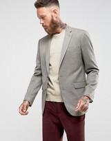 Farah Kingsley Hopsack Skinny Fit Blazer