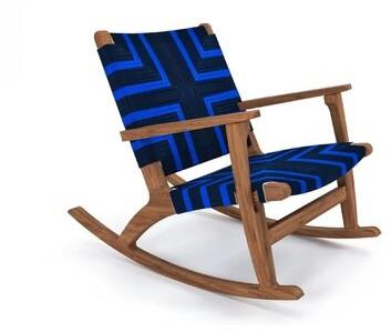 Thumbnail for your product : Masaya & Co Rocking Chair Color: Mahogany
