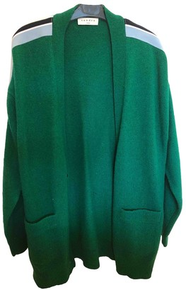 Sandro Green Wool Knitwear for Women