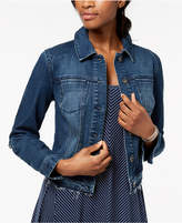 Style&Co. Style & Co Released Hem Denim Jacket, Created for Macy's