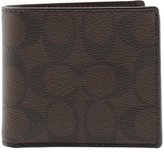 Coach Coin Bi-Fold Wallet in Signature PVC - F75006 MA/BR