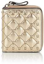 Valentino Women's Rockstud Spike French Wallet
