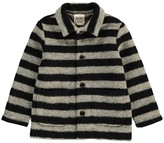 Douuod Striped Marabu Coat
