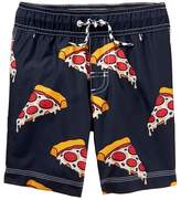 Gymboree Pizza Swim Trunks