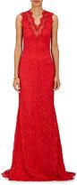 Sophia Kah Women's Lace Gown-RED