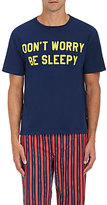 "Sleepy Jones Men's ""Don't Worry Be Sleepy"" Graphic Jersey T-Shirt"