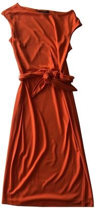 Lauren Ralph Lauren Orange Dress for Women