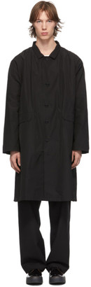 Camiel Fortgens Black Long Casual Coat