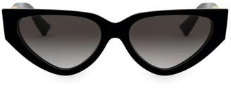 Valentino Allure 54MM Aviator Cateye Sunglasses