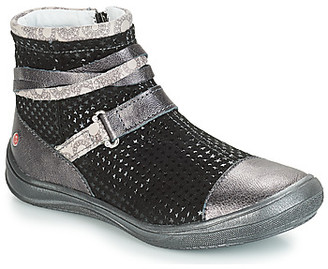 GBB ROCHELLE girls's Mid Boots in Grey