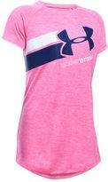 Under Armour Girls' UA Novelty Fast Lane T-Shirt