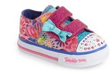 Skechers Toddler Girl's 'Twinkle Toes - Shuffles' Light-Up Sneaker