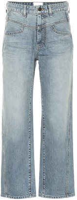 Colovos High-rise straight-leg jeans