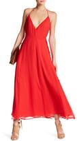Frame Maxi Halter Silk Dress
