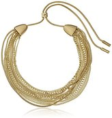 """Kenneth Cole New York Coral Canyon"""" Mixed Multi-Chain Adjustable Slide Necklace, 15.5"""""""