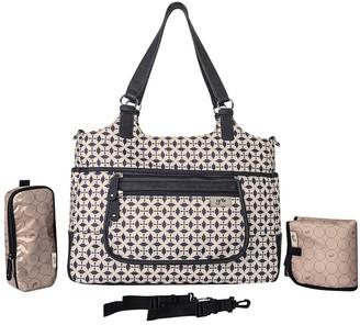Gr8x Charlotte Tote Baby Bag Grey
