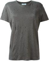 IRO 'Clay' T-shirt - women - Linen/Flax - M