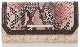 Brahmin Collins Collection Soft Checkbook Wallet