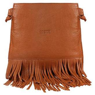Leather Fringe Crossbody Bag for Women - Ladies Handbag Tassel Shoulder Hobo Bags (