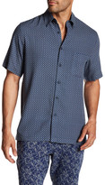 Toscano Diamond Silk Blend Regular Fit Shirt