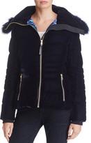 Elie Tahari Blakely Fur Trim Down Jacket