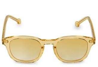 Colors In Optics Eldridge 49MM Round Sunglasses