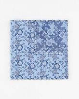 Le Château Floral Print Microfibre Pocket Square