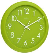 Acctim 21895 Abingdon Wall Clock, Lime Green