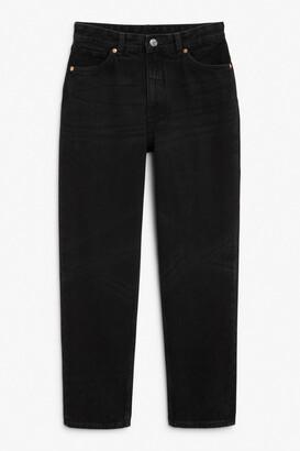 Monki Taiki black x-long jeans