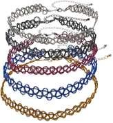 Mudd Tattoo Choker Necklace Set