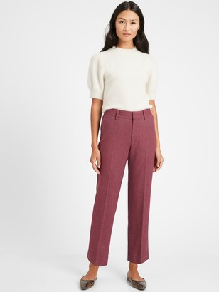 Banana Republic High-Rise Relaxed Straight Pant