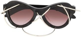 Kuboraum Y2 wire detail sunglasses